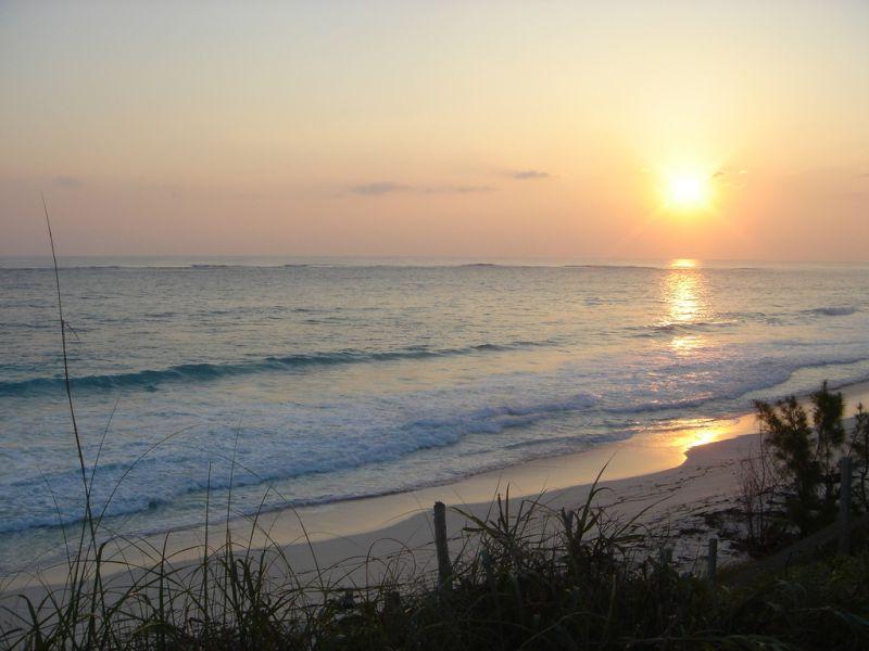 Остров Гуана Кэй Острова Абако Багамские острова C6AKV Туристические достопримечательности Утренняя заря.