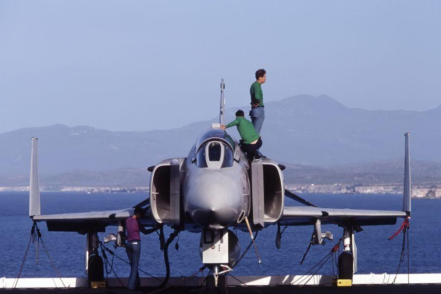 Guantanamo Bay KG4EU KG4HP F-4 Phantom.