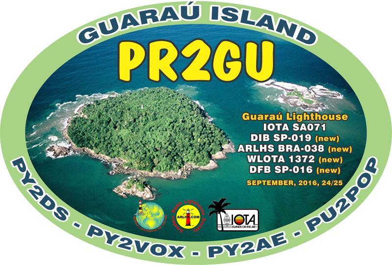 Guarau Island PR2GU Logo