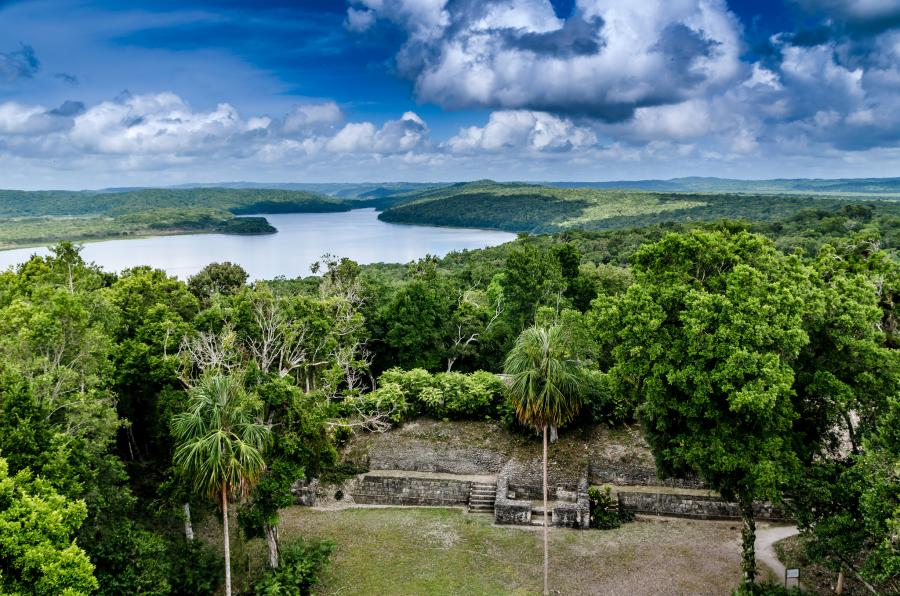 Guatemala TG9/JA2SWH Yaxha, Flores, Peten.
