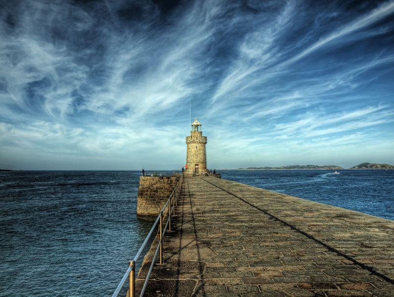 Guernsey Island GU9V Lighthouse