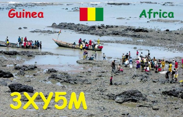 Guinea 3XY5M QSL