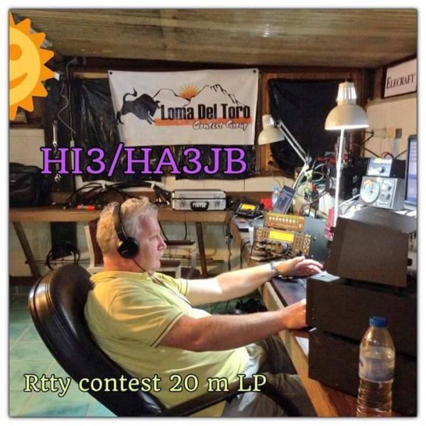 Dominican Republic HI3/HA3JB CQ WW DX RTTY Contest