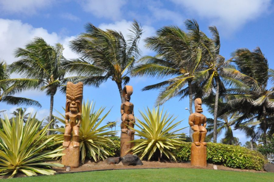 Hawaiian Islands KH7M Tourist attractions spot