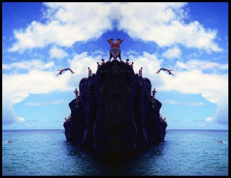 Hawaiian Islands KH6/F4GHS Tourist attractions spot Magic Island, Ho'okalakupuna.