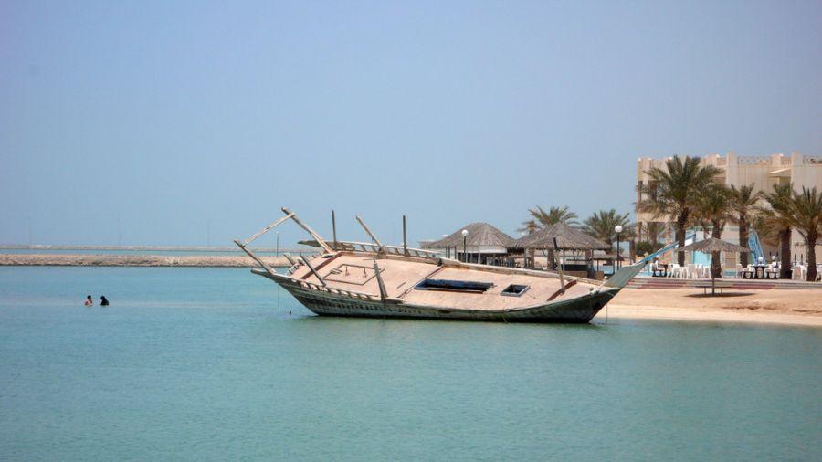 Остров Хавар A91HI Острова Хавар Бахрейн DX Новости Корабль.