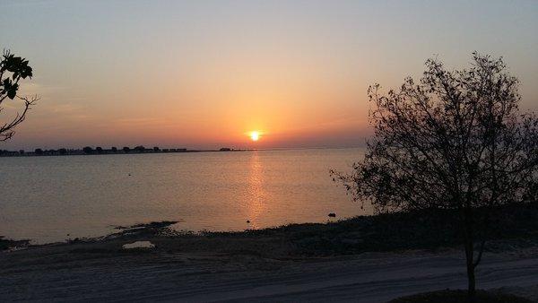 Hawar Island A91HI Sunset