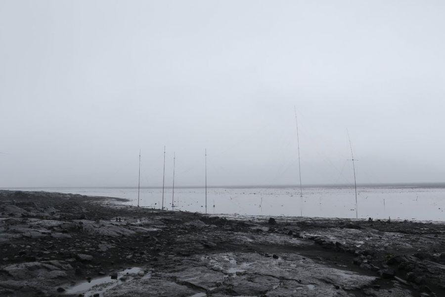 Heard Island VK0EK Rain Antennas AE0EE