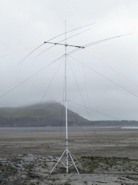 Heard Island VK0EK Beam Antenna