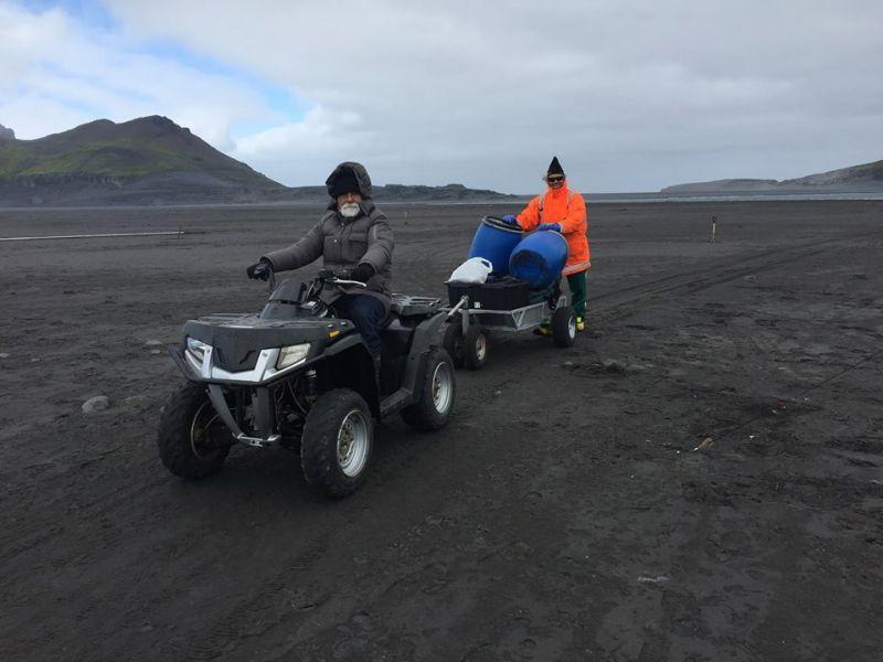 Heard Island VK0EK Transport Polaris