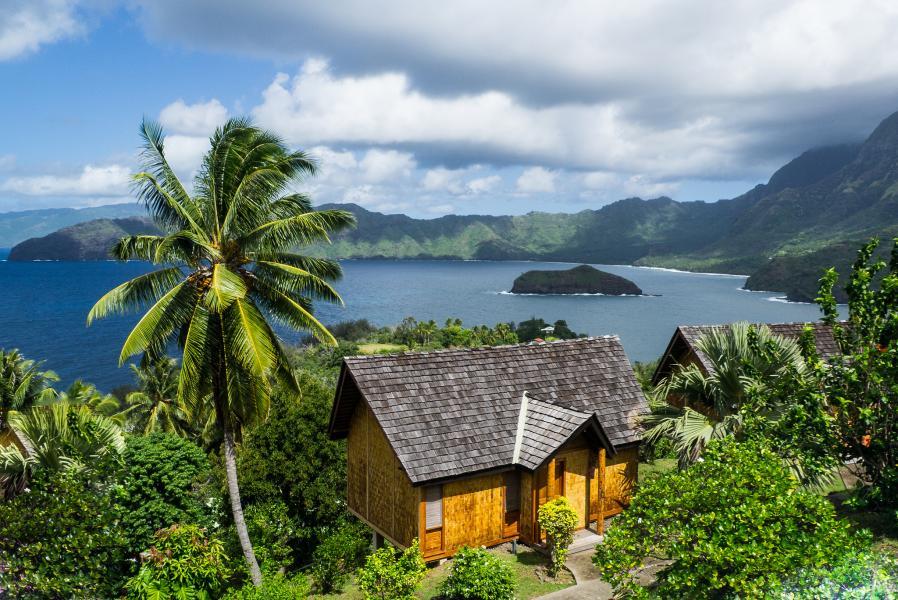 Остров Хива Оа Маркизские острова FO5QS Атуона.