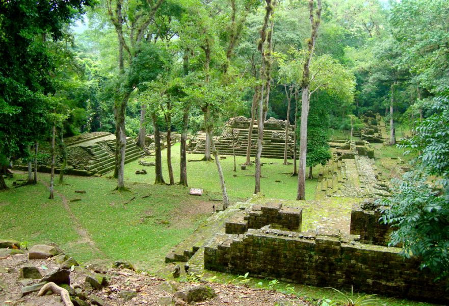 Honduras HR2J HR2/AJ9C Tourist attractions spot