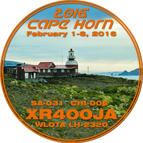 Hornos Island Tierra del Fuego 3G9JA Logo