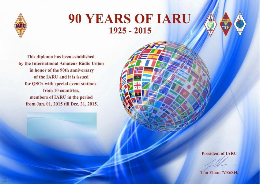 International Amateur Radio Union 70