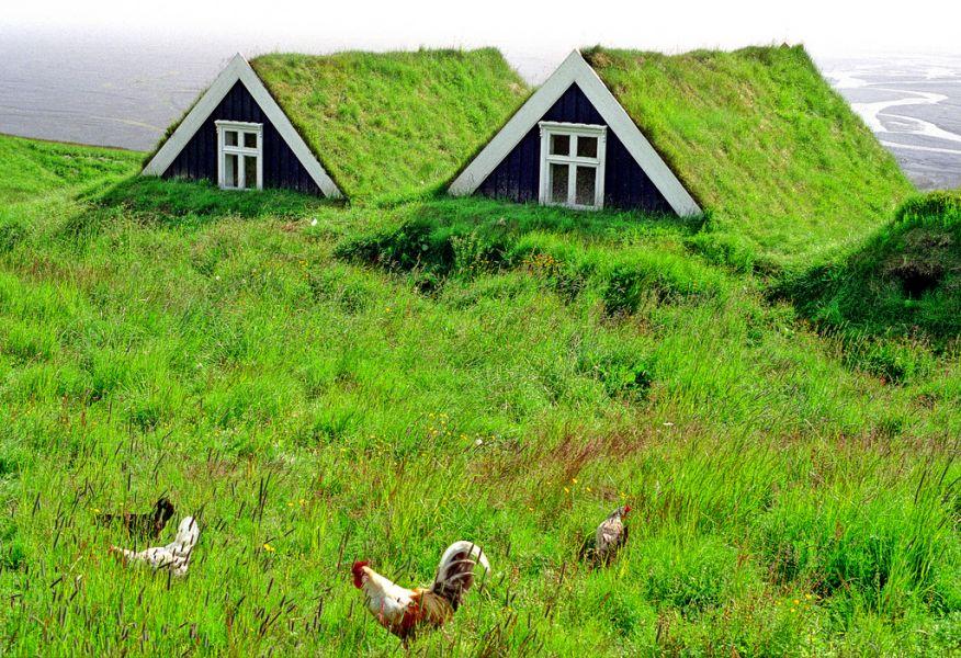 Iceland TF3WK National Park de Skaftafell.