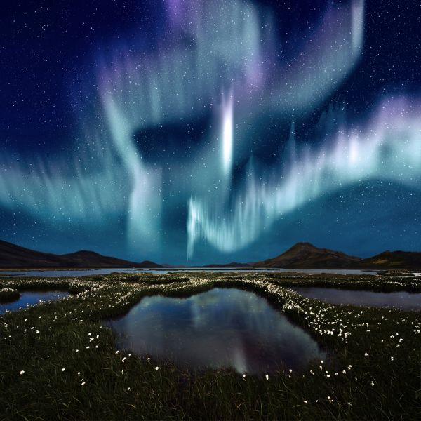 Iceland TF4X DX News Aurora Borealis