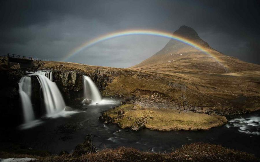 Исландия TF/OH2HOD Туристические достопримечательности