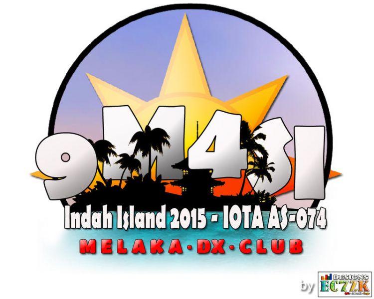Остров Индах 9M4SI Логотип