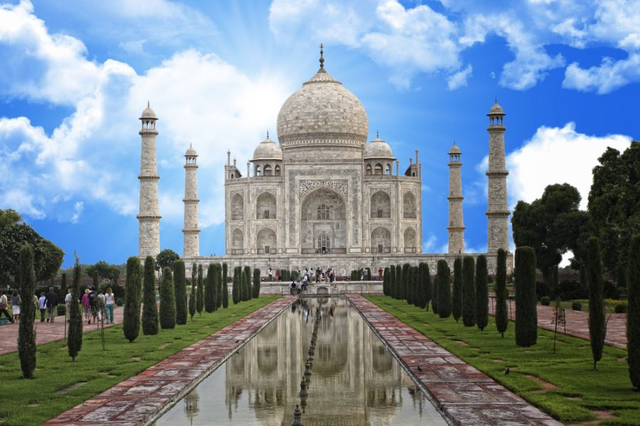 India AU90IARU Taj Mahal