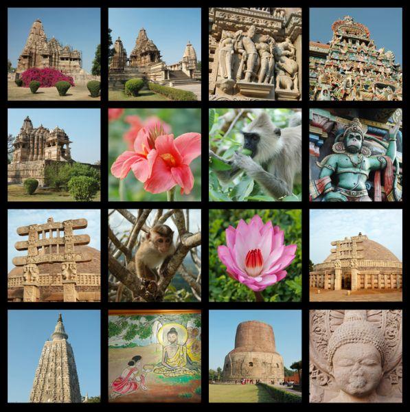 Индия VU3LYT Туристические достопримечательности