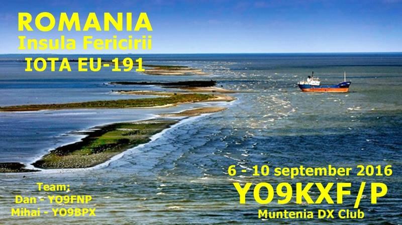 Insula Fericirii YO9KXF IOTA EU - 191