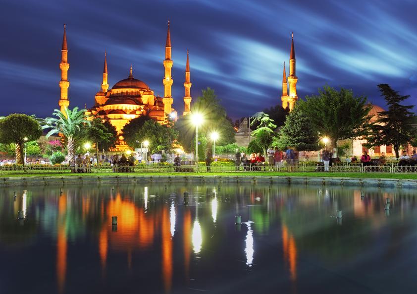 Стамбул Турция TC2C Туристические достопримечательности