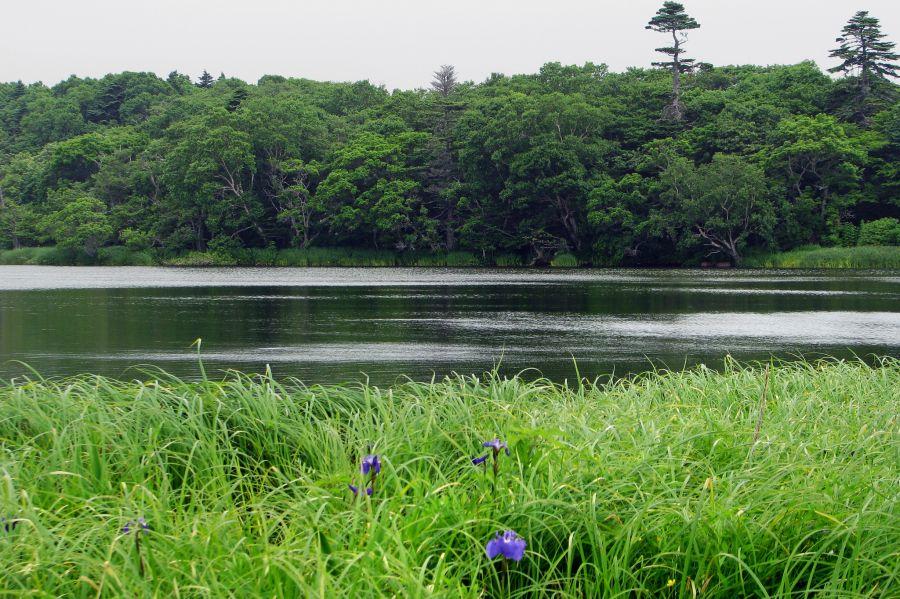 Остров Итуруп Курильские острова RM0F/P Туристические достопримечательности Озеро Наташа.