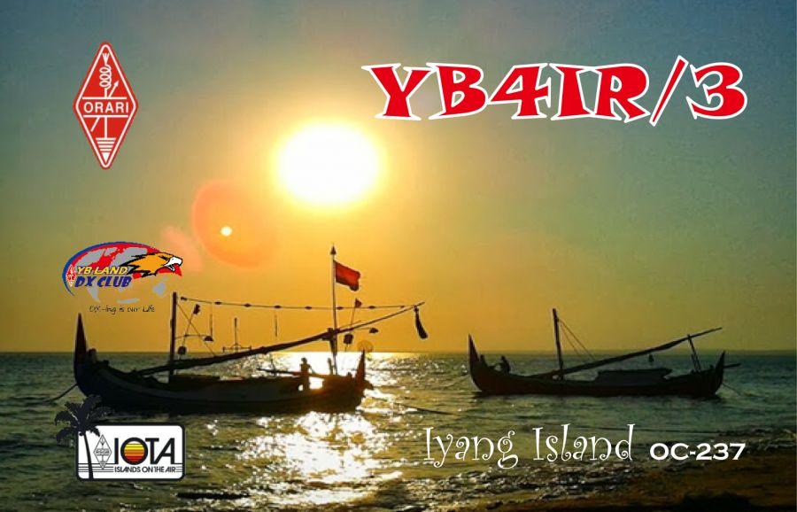 Gili Iyang Island YB4IR/3 QSL