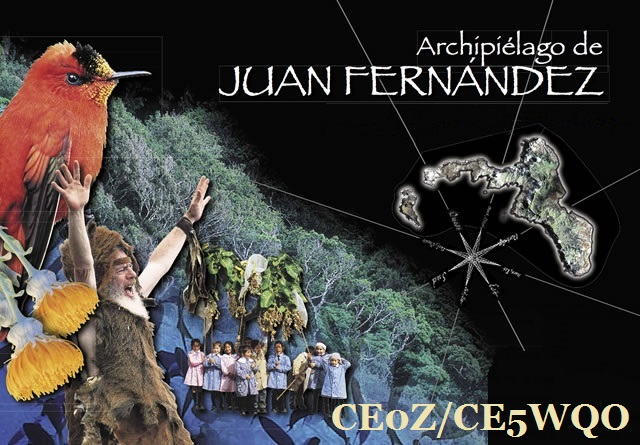 Остров Робинзона Крузо CE0Z/CE5WQO Остров Хуан Фернандес