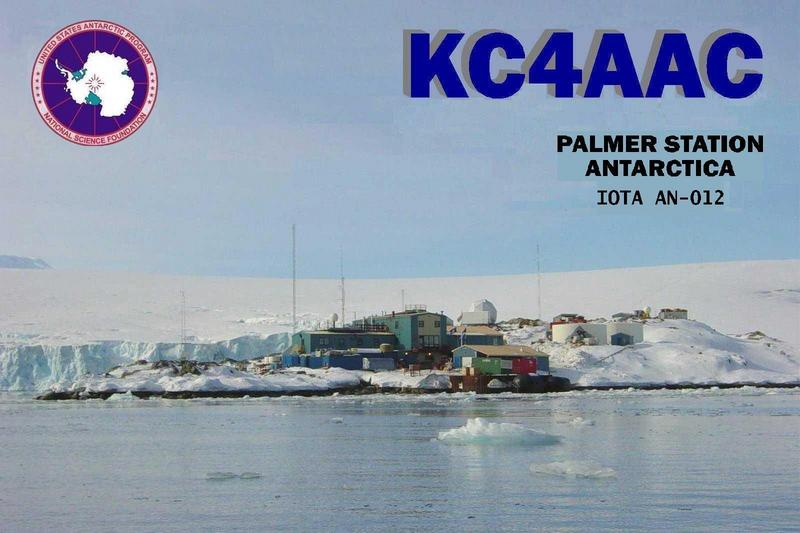 KC4AAC Антарктида QSL
