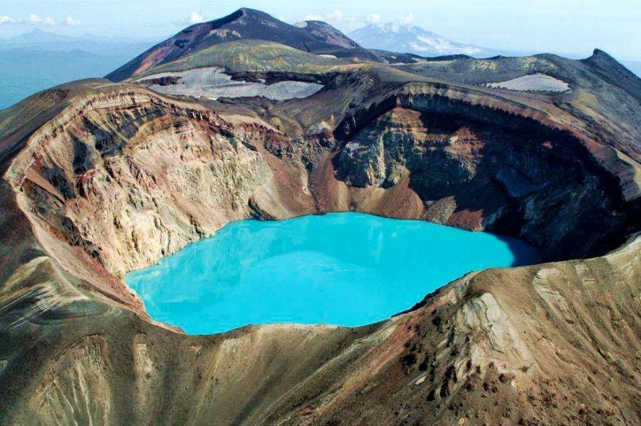 Kamchatka RZ0ZWA/P Tourist attractions spot