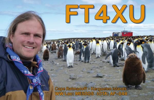 Острова Кергелен FT4XU QSL