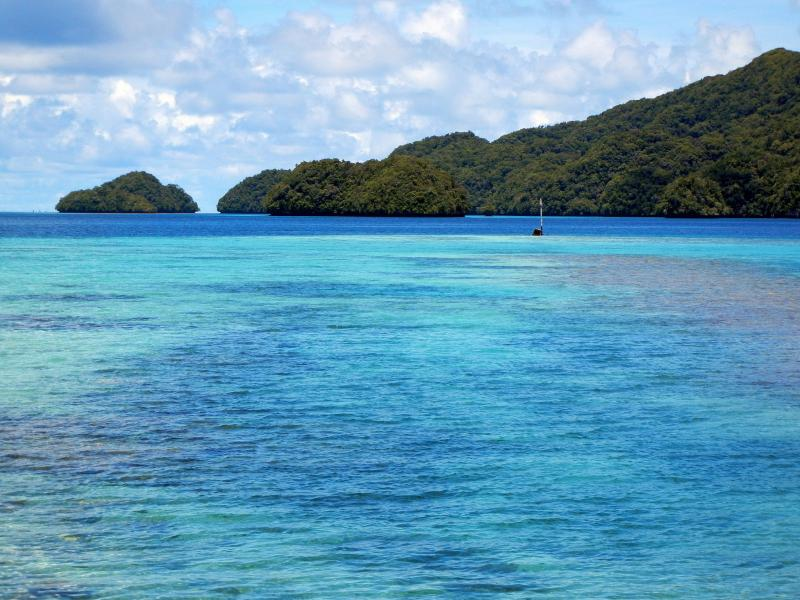 Koror Island Palau T88XA Tourist attractions spot