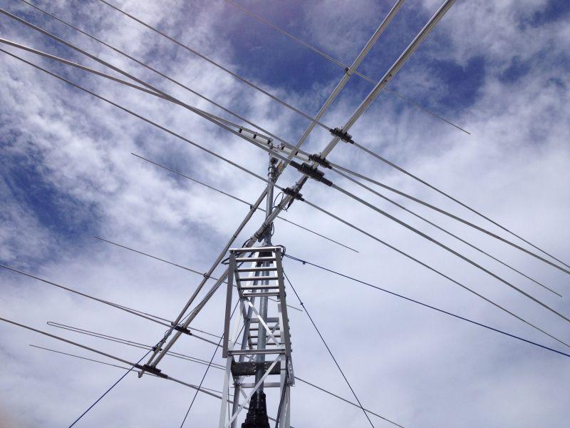 Koror Island Palau Islands T88KH Antennas