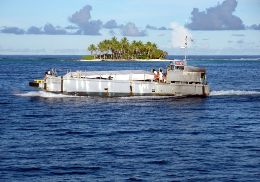 Kwajalein Atoll Marshall Islands V73/WW6RG DX News Ebeye Ferry