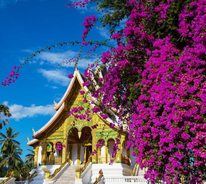 Laos XW4FB Tourist attractions