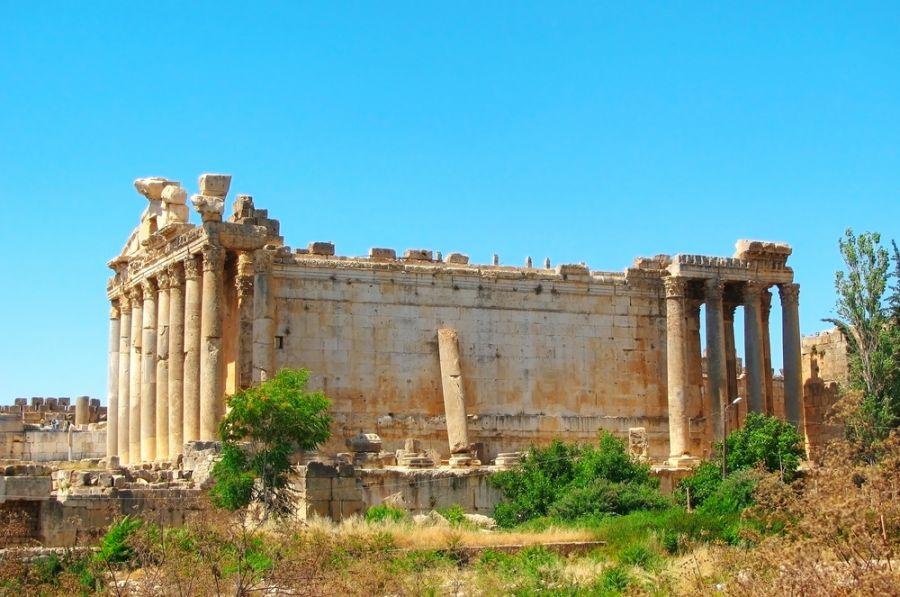 Ливан OD5/IZ1CCK Туристические достопримечательности Храм Юпитера.