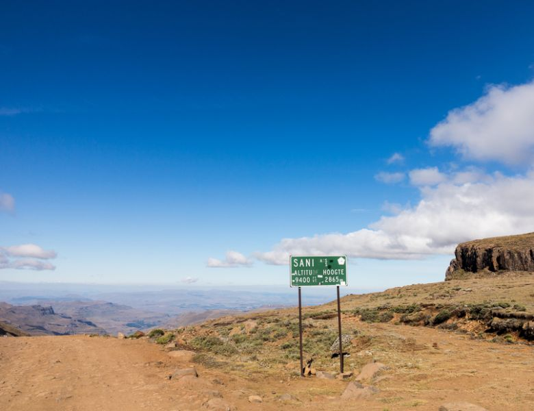 Lesotho 7P8GF Tourist attractions