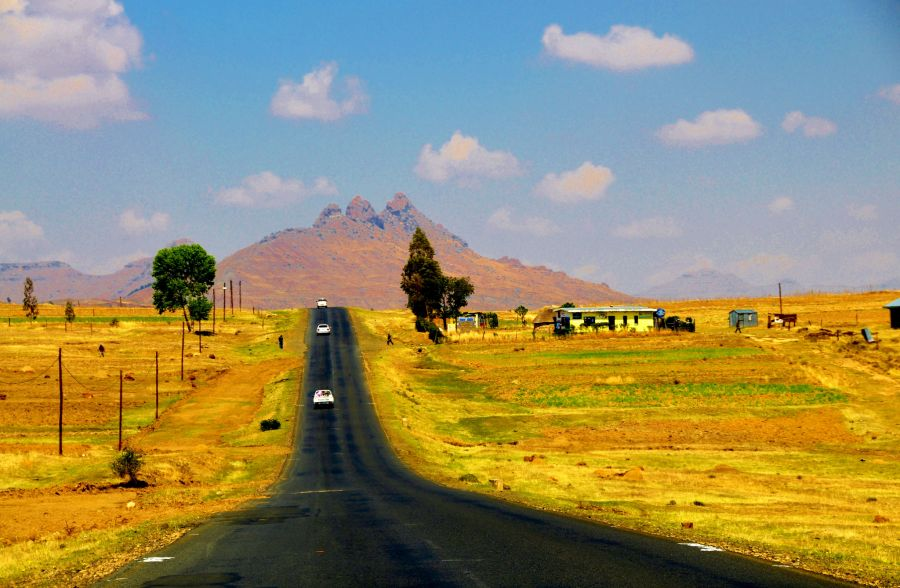 Lesotho 7P8GOZ DX News On the road