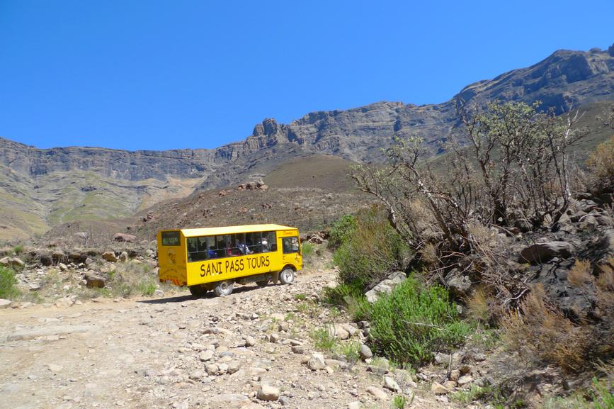 Lesotho 7P8LS Tourist attractions