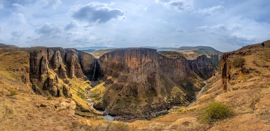 Lesotho 7P8NO Maletsunyane Falls.