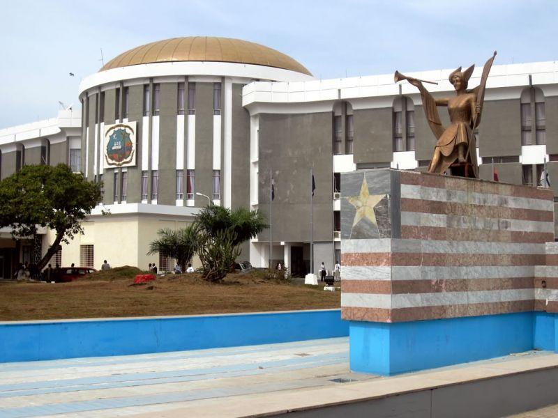 Liberia EL2DW Tourist attractions spot Capitol Building.