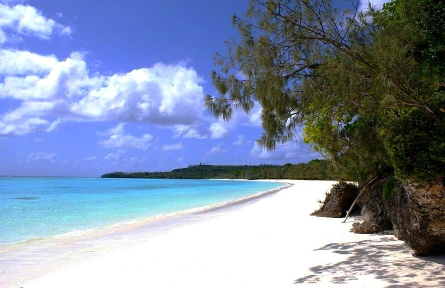 Lifou Island FK/F8FUA New Caledonia Tourist attractions spot Beach.