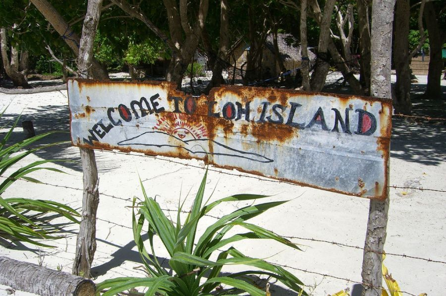 Loh Island YJ8RN YJ8RN/P Tourist attractions spot Torres Islands