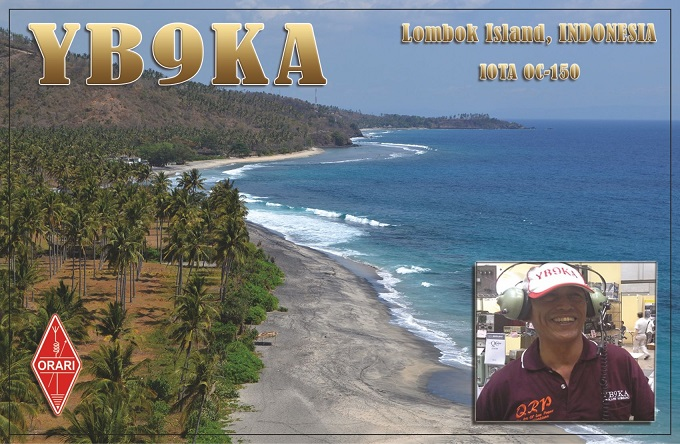 Остров Ломбок YB9KA