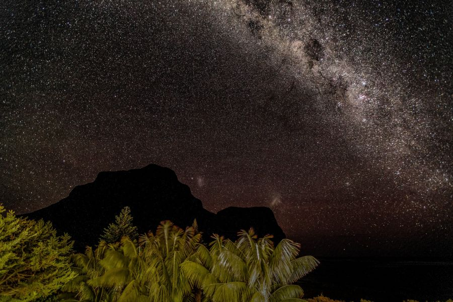 Lord Howe Island VK9LX VK9L/W1RSD Mount Gower and Lidgbird Milky Way.