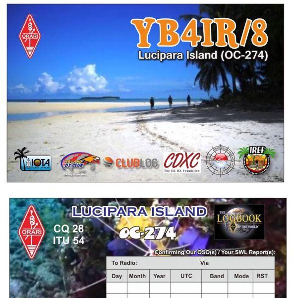 Lucipara Island Lucipara Islands YB4IR/8