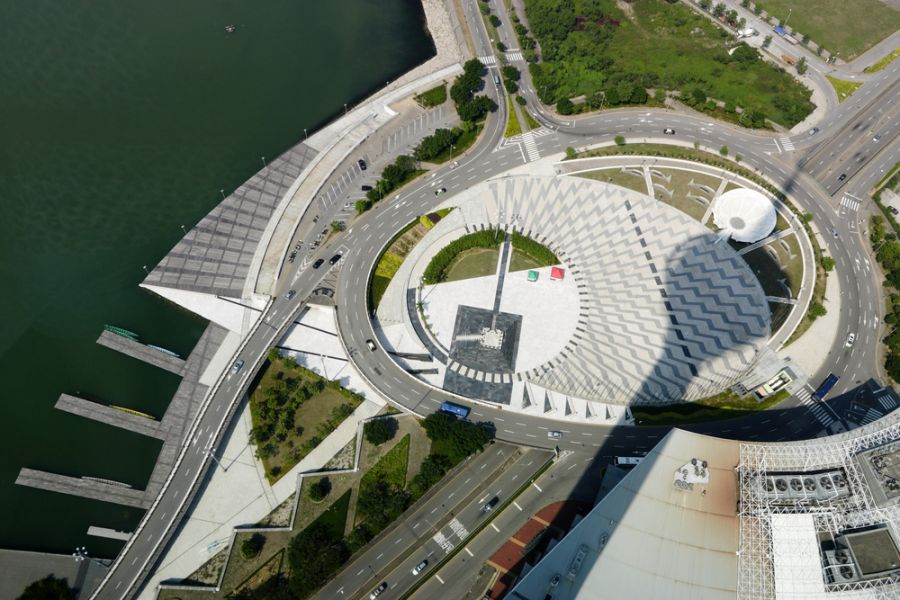 Macau XX9TIH XX9TUD DX News The view from Macau tower