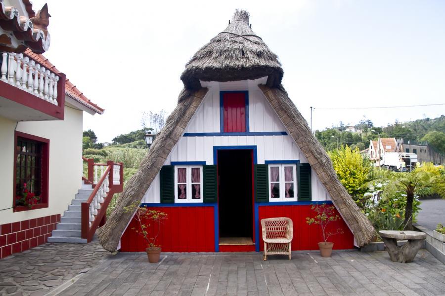Madeira Island CR3W Tourist attractions spot Santana