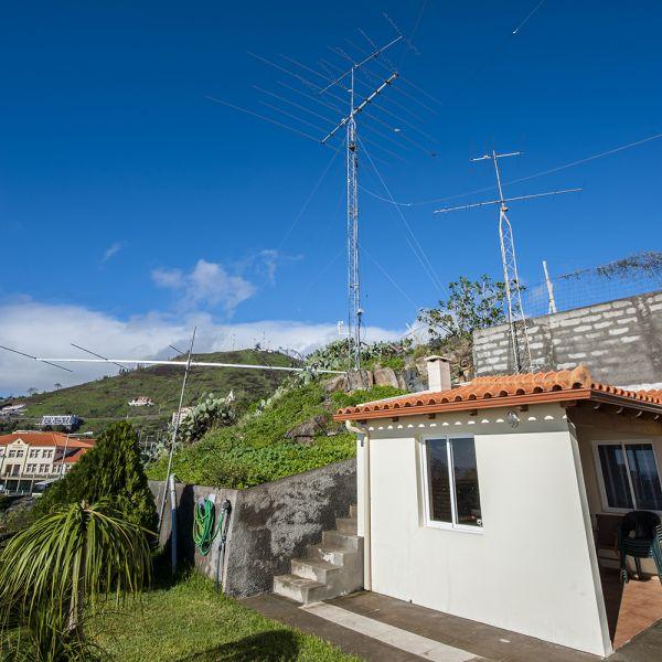 Madeira Island CT3HF Home Antennas
